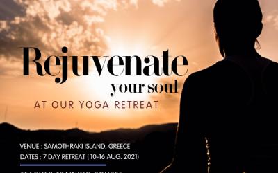 Yoga retreat and 200 hrs teacher training course in the Mysterious Samothraki island